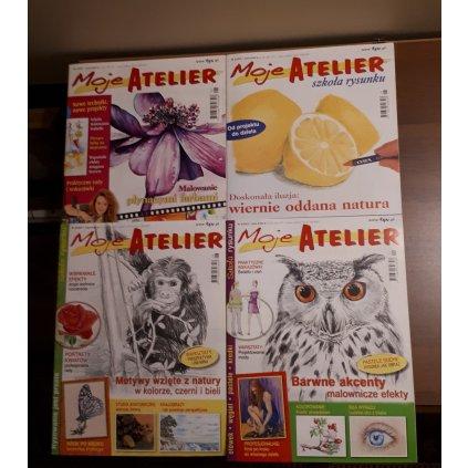 """Moje Atelier"" kwartalniki z lat 2009 -"