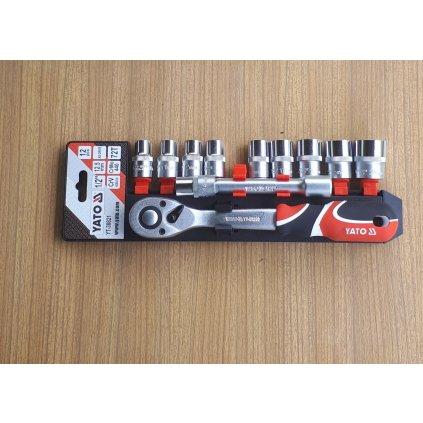 Zestaw nowych kluczy nasadowych firmy YATO YT – 38