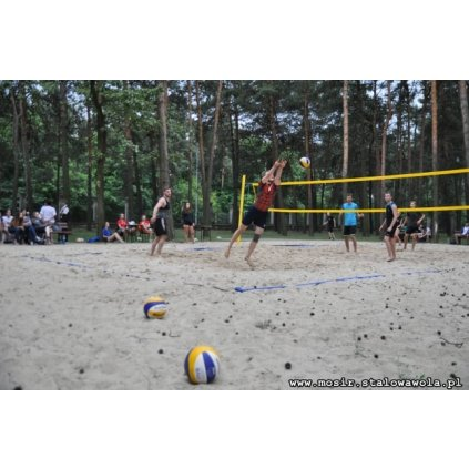 Turniej Siatkówki Plażowej w Stalowej Woli - MOSIR
