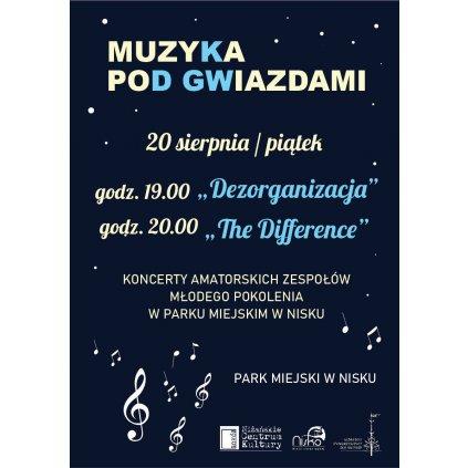 Muzyka Pod Gwiazdami - Koncerty amatorskich zespołów - Nisko