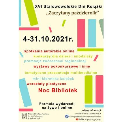 """Stalowowolskie Dni Książki - """"Zaczytany październik"""" - MBP"""