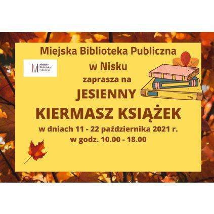 Jesienny Kiermasz Książek - Miejska Biblioteka Publiczna - Nisko