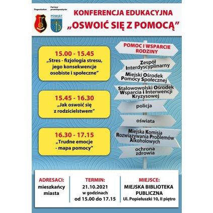 """Konferencja Edukacyjna - """"Oswoić się z pomocą"""" - MBP"""