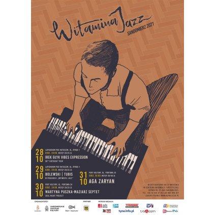 Cykl koncertów jazzowych - WITAMINA JAZZ 2021 - Sandomierz