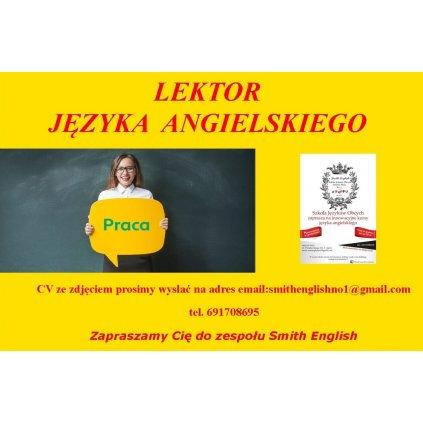 Praca Lektor Języka Angielskiego