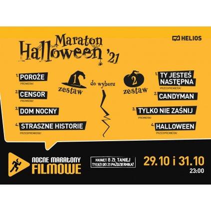 Maraton Halloween 2021 - Kino Helios cz.1