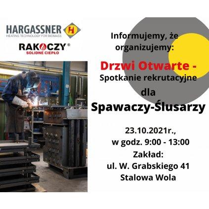 DRZWI OTWARTE dla SPAWACZY w firmie RAKOCZY STAL sp. z o.o.