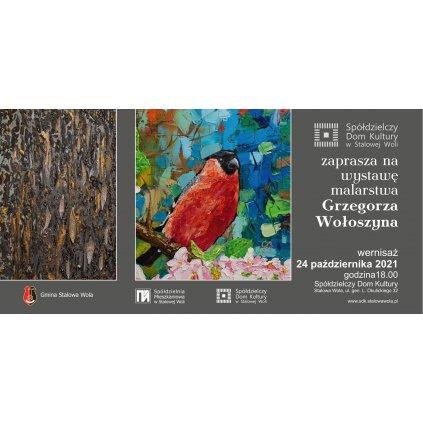 Wystawa malarstwa Grzegorza Wołoszyna - SDK STW